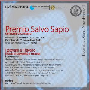Premio Salvo Sapio