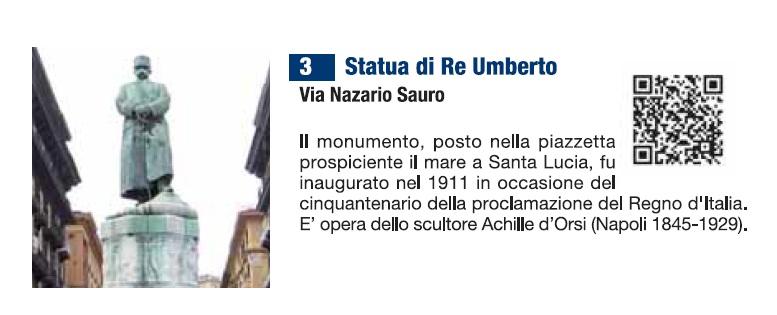 Statua Re Umberto